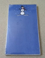Let It Snow Mini Notepad