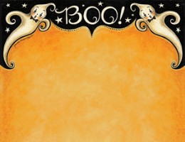 Boo Times Two Notepad