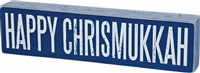 Happy Christmukkah Box Sign
