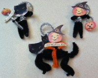 Jacks & Cats Ornaments