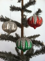 Snowcap Glass Ornaments