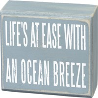 Ocean Breeze Box Sign