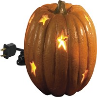 Mini Antique Lighted Pumpkin