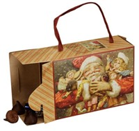 Santa & Dolls Candy Box