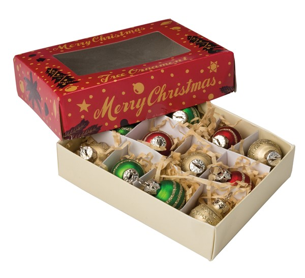 Mini Decorated Ornaments Box