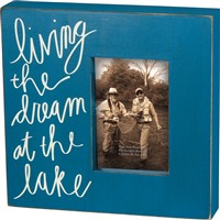 At The Lake Box Frame