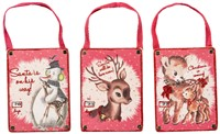 Countdown Deer Ornaments