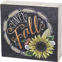 Happy Fall Chalk Sign
