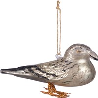 Seagull Glass Ornament
