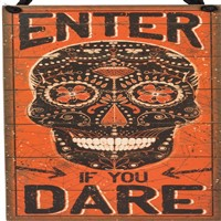Enter If You Dare Hang Up