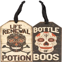 Potion Boos Bottle Tag