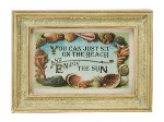 Beach & Sun Framed Print
