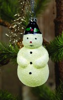 Ragon House Vintage Snowman Ornament