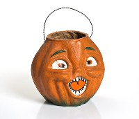 Ragon House Jack-O-Lantern Choir Boy Orange Large