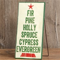Ragon House Pine Tree Standing Sign