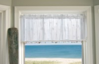 Heritage Lace Sand Shell Valance