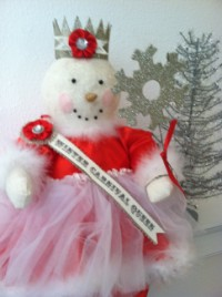 Winter Snow Carnival Queen