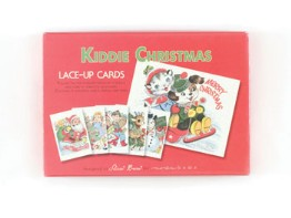 moda Kiddie Christmas Lace-Up Cards