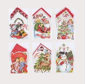 moda Merry Christmas Kid's Hankie Cards
