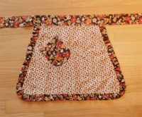 moda Autumn Child's Apron