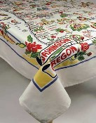moda Washington Oregon Tablecloth