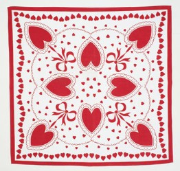 moda Valentine Tablecloth