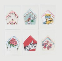 moda Little Sniffles Child's Gift Card & Hanky Set