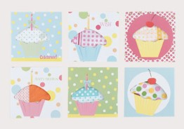 moda Happy Birthday Hankie Cards