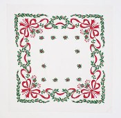 moda Candy Cane Tablecloth