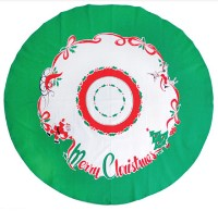 moda Merry Christmas Round Tablecloth