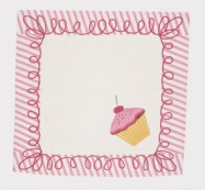 moda Happy Birthday Napkins Pink