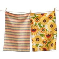 tag Sunflower Dishtowel Set