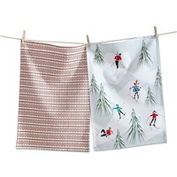 tag Skiing Dishtowel Set