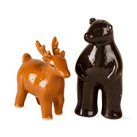 tag Deer & Bear Salt & Pepper Set