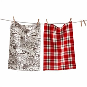 tag Barnyard Dishtowel Set