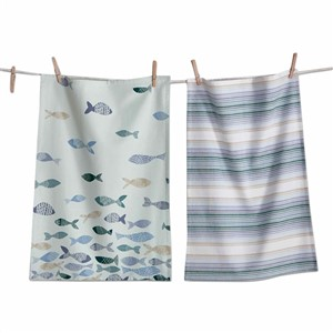 tag Fish Dishtowel Set