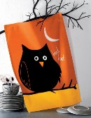 tag Night Owl Printed Dishtowel