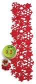 tag Snowflake Red Felt Runner