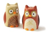 tag Owl Salt & Pepper Shakers